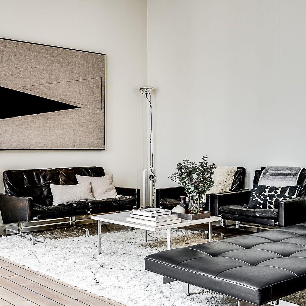 An Industrial Floor Lamp Design By Achille Pier Giacomo Castiglioni Toio In White Incorporates Contemporary Floor Lamps Interior Furniture Floor Lamp Design