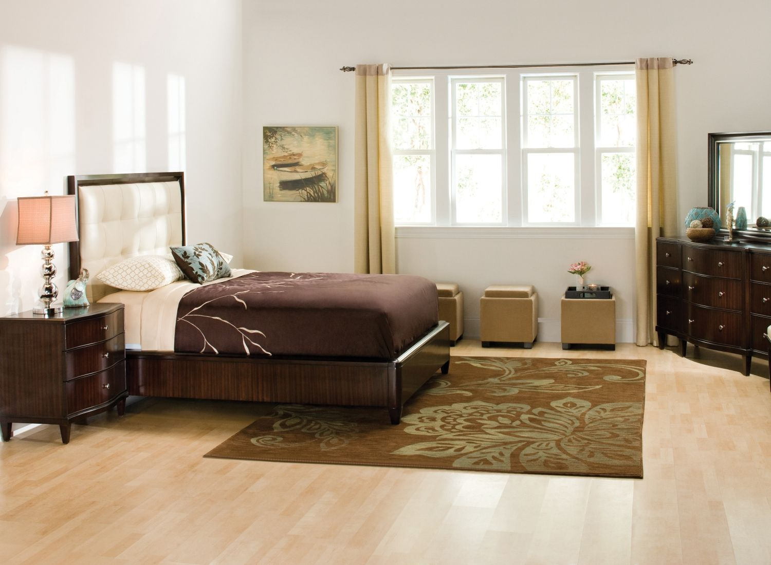 """Westwood Bedroom Set Give your bedroom a little """"wow"""