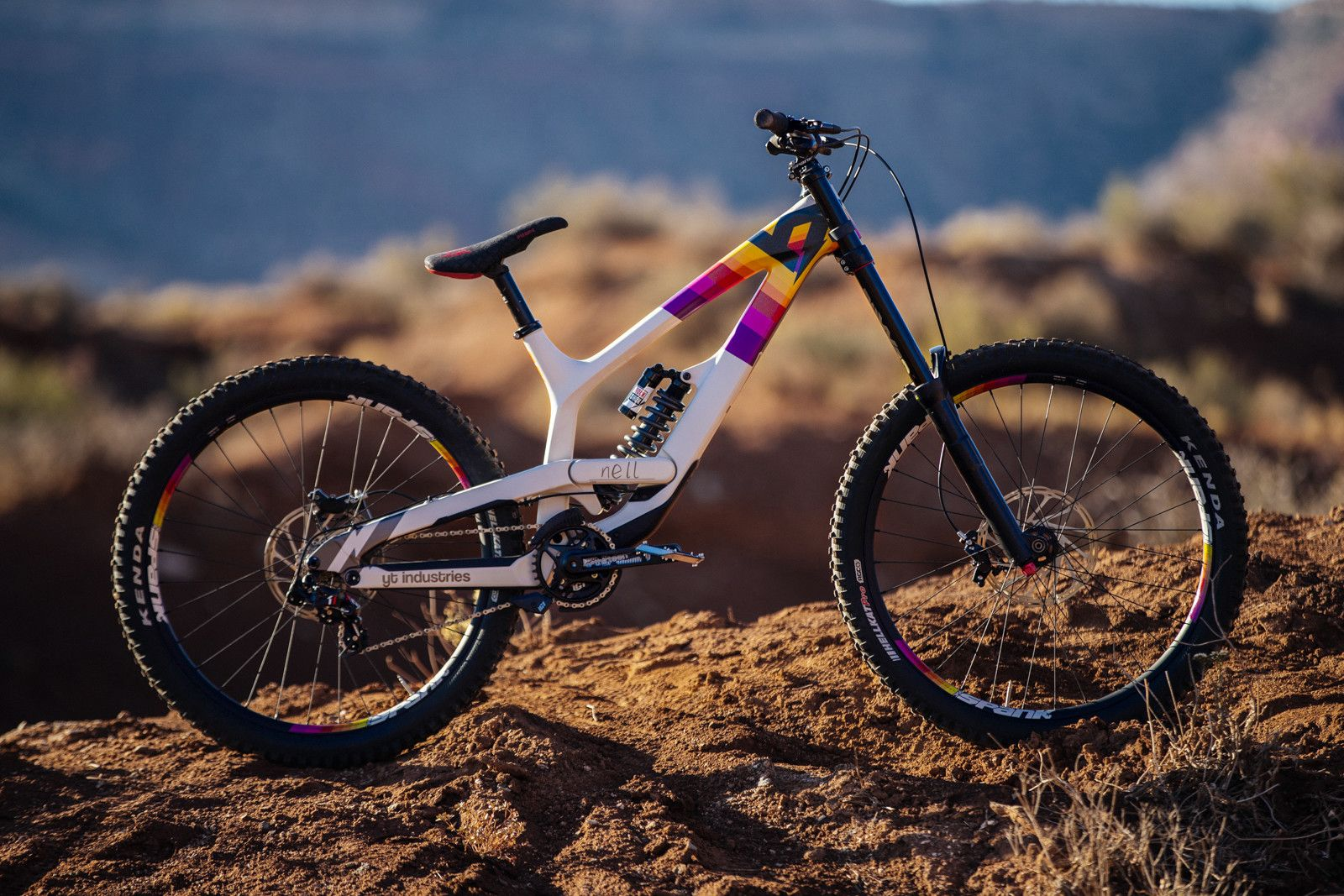 The Bikes Of Battle Red Bull Rampage Freeride Machines In 2020 Red Bull Rampage Freeride Bike