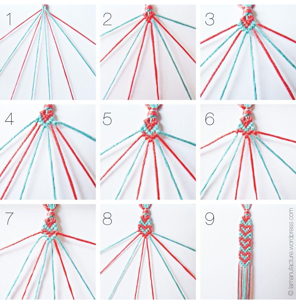 DIY Heart Pattern Friendship Bracelet DIY Projects | UsefulDIY.com