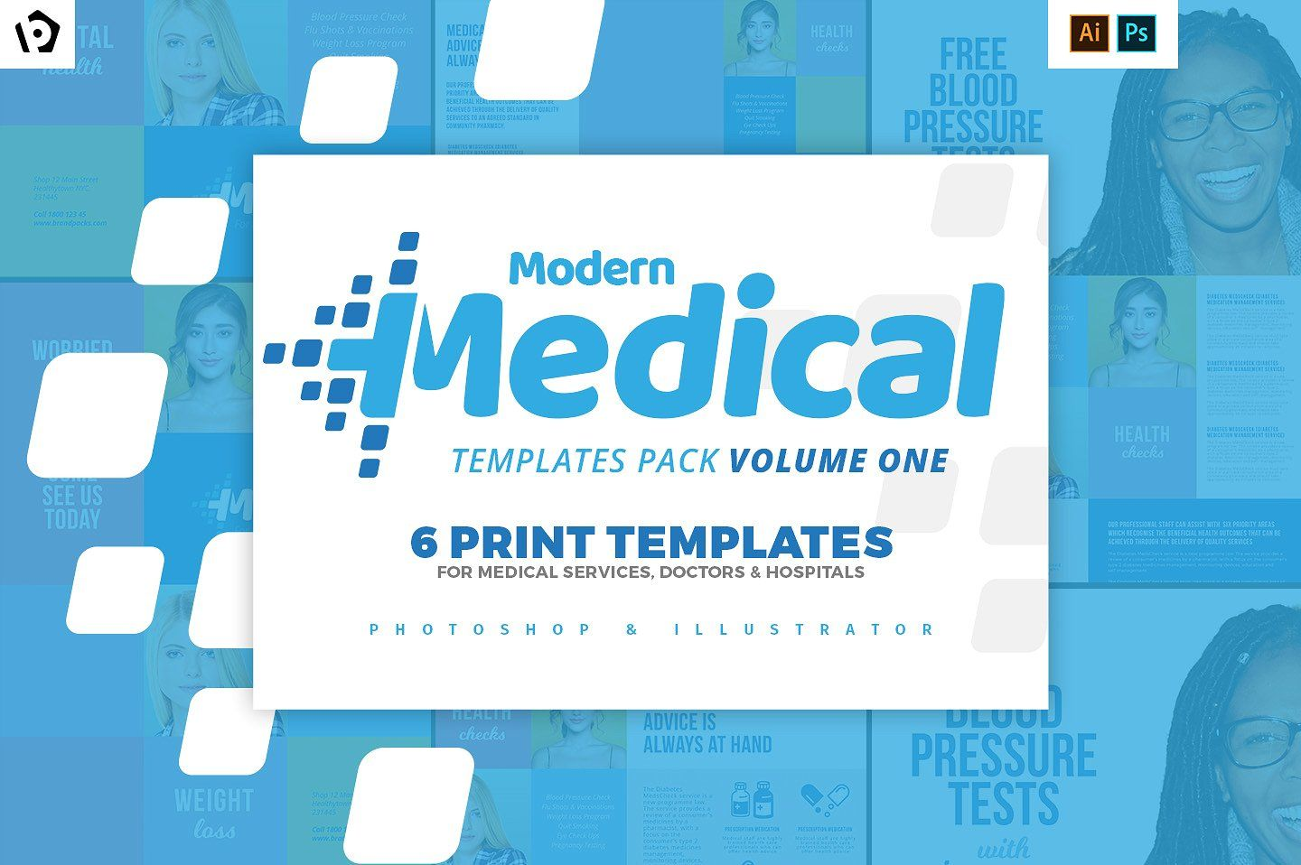 Modern Medical Templates Pack Medical Best Health Insurance