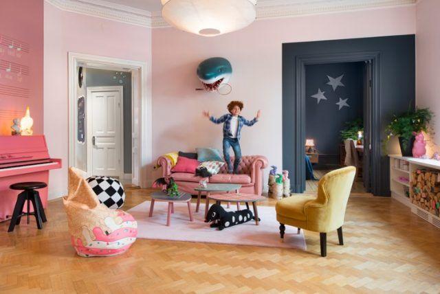 ide dco peinture intrieur maison les murs bicolores respirent lquilibre - Decoration Peinture Interieur Maison