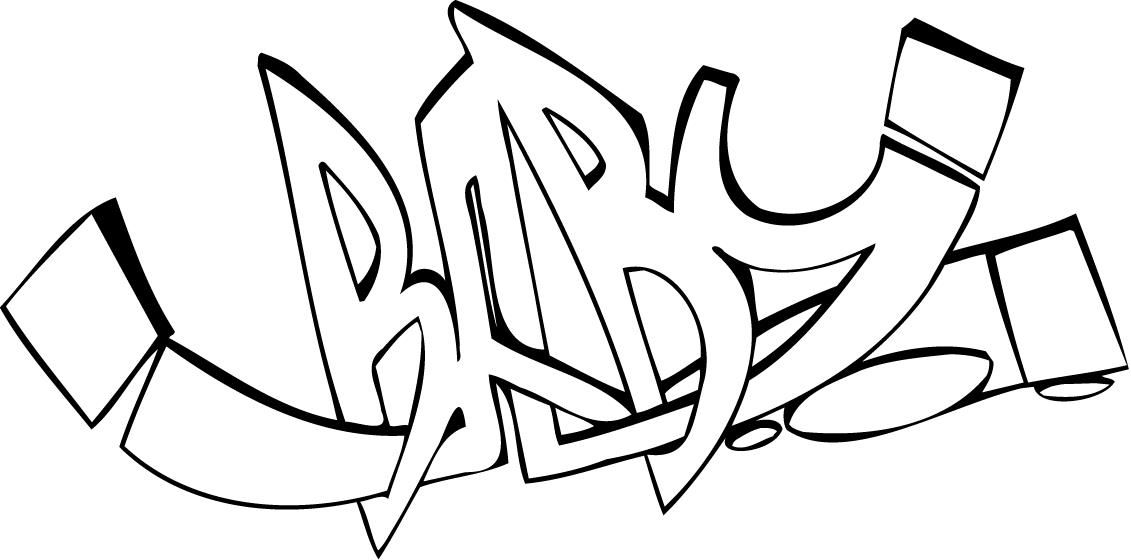 Kids Coloring Graffiti Words Coloring Pages For Teenagers Free ...