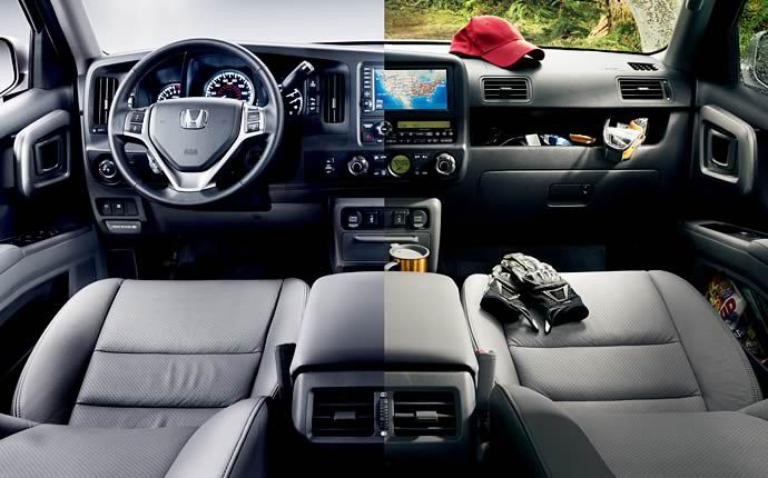 Honda Ridgeline 2016 Interior