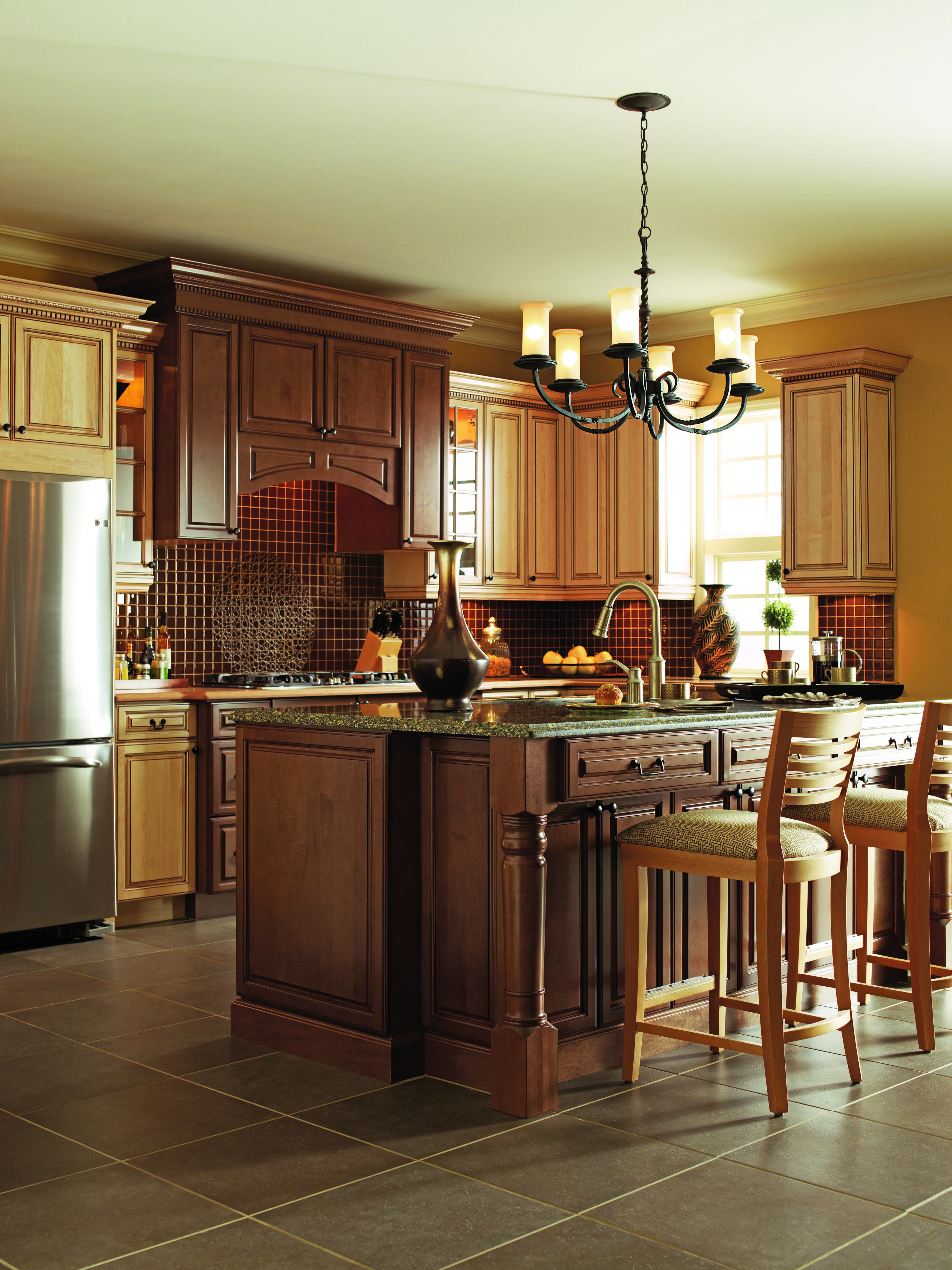 Home Depot Canada Kitchen Island Kraftmaid Kitchens Traditional From Thomasville Classic Fall