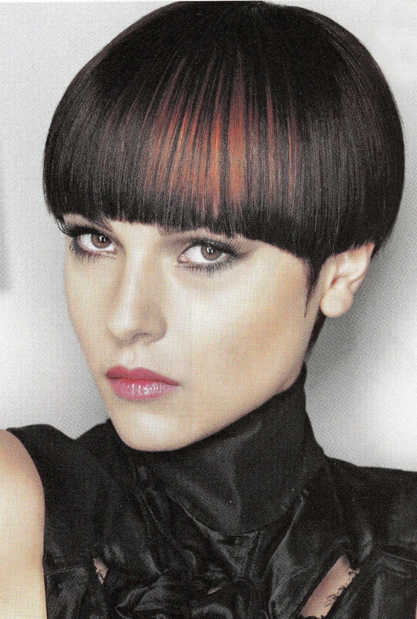female mushroom haircut
