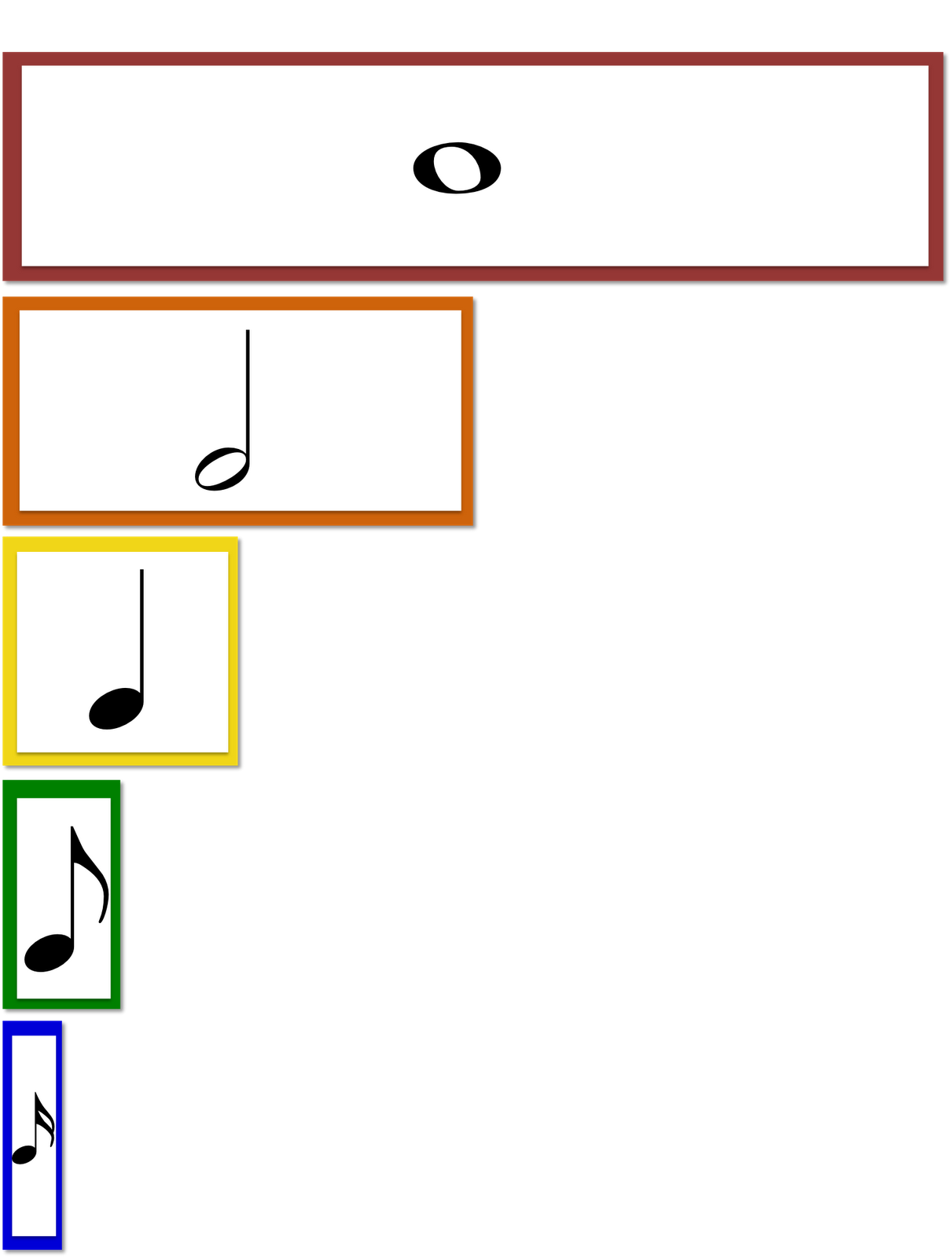 Classroom Music Ideas And Songs Could Use Fraction Bars