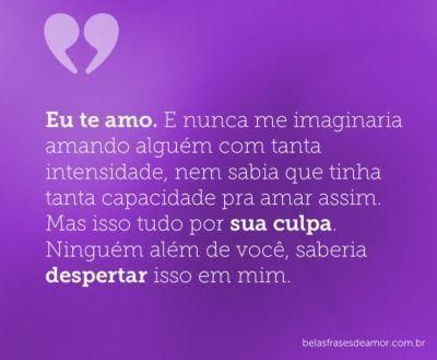 Eu Te Amo Amor Pinterest Love Love Quotes E I Love You