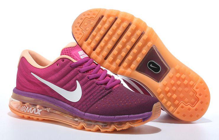 Purper Nike Loopschoenen Me 2017 Max Air Dames For OranjeKicks KFl1cJ