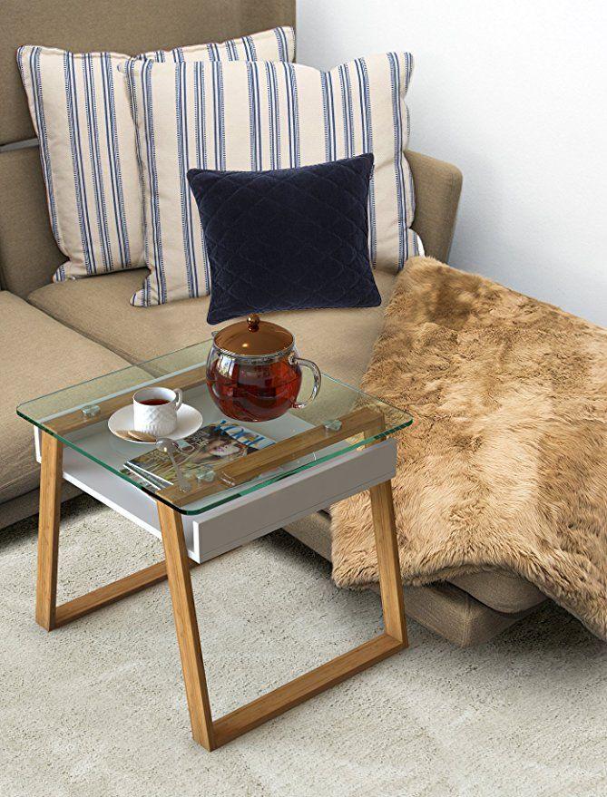 Amazonde bonVIVO Pablo, Moderner Beistelltisch Für Wohnzimmer - Moderne Tische Fur Wohnzimmer