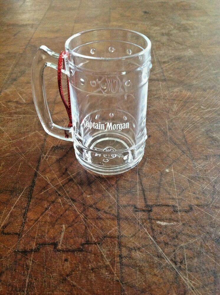 Captain Shot Glass Plastic Mug Style Ornament Gift