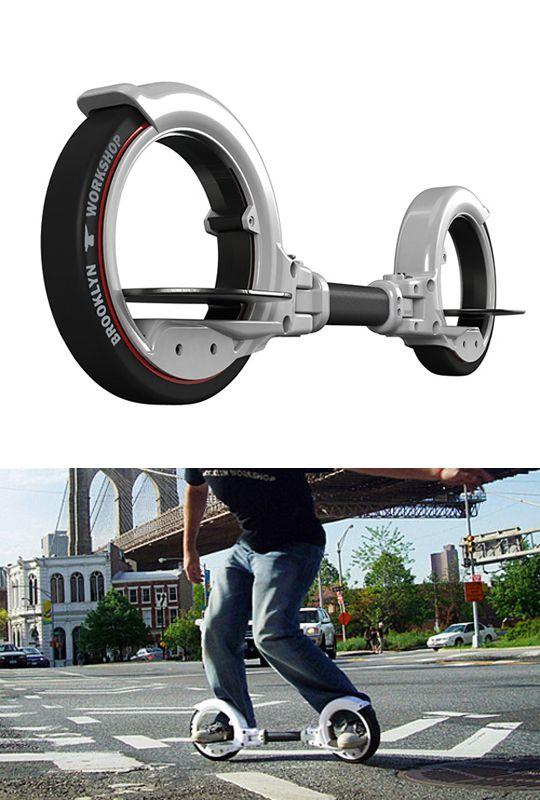 この未来形のスケートボード、Freerider Skatecycle(フリーライダー スケートサイクル)。かなり惹かれます。  BMWから4輪サスペンションのスケ...