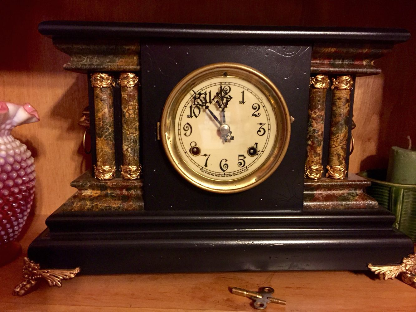 Brookwood By Kassel 31 Day Wood Wall Clock Vintage Wall Clock Pendulum Clock Chiming Wall Clocks