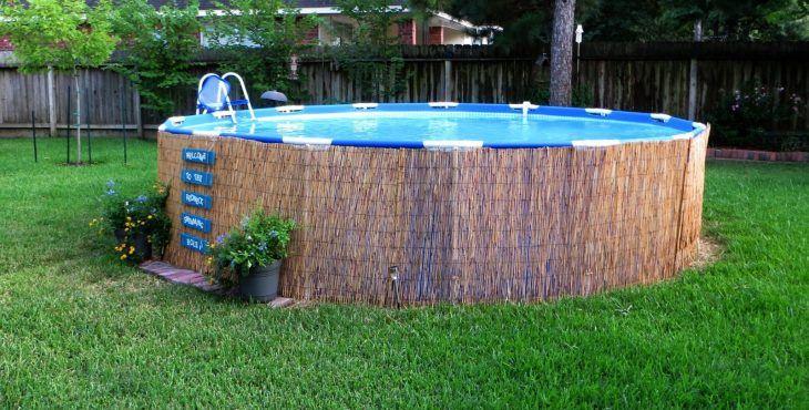 Piscina con palets cosas por hacer pinterest for Como hacer una piscina economica
