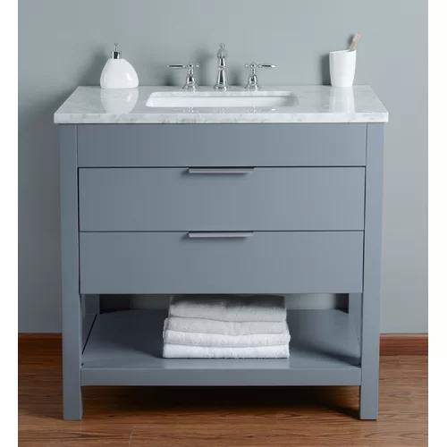 Knorr 36 Single Bathroom Vanity Set With Images Single