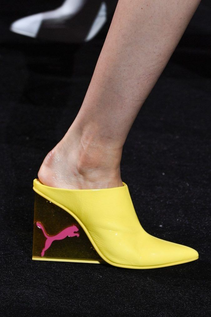2b44eafc306d Balenciaga-banana-yellow-crocs-with-heels-675x1015 +8 Catchiest Women s Shoe  Trends to Expect in 2018