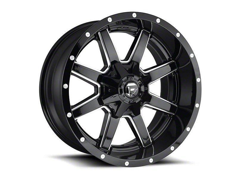 Fuel Wheels Maverick Gloss Black Milled 6Lug Wheel