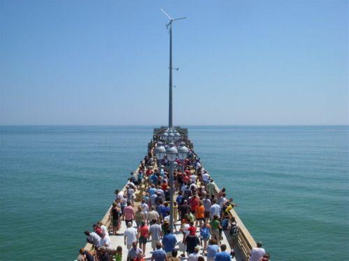 Outer Banks fishing pier, Jennette's Pier