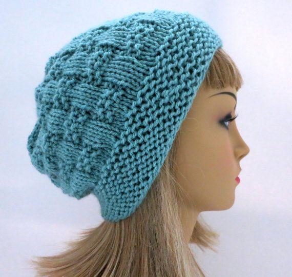 Hat Knitting Pattern Beanie Tam Cloche | Elvia | Pinterest | Gorros