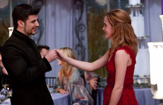 Hermione Danced With Viktor At Bill And Fleurs Wedding