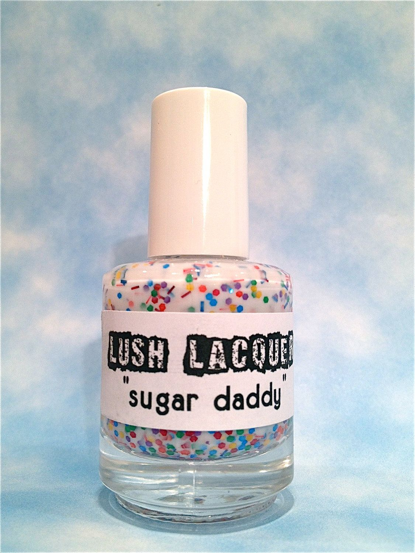 Sugar Daddy : Custom-Blended Glitter Nail Polish / Lacquer. $8,75 ...