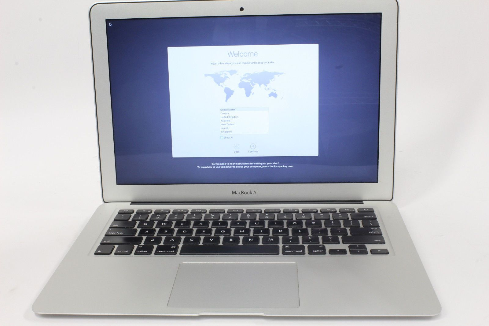 Apple MacBook Air Model A1466 Intel Core i7 2.0GHz 8GB RAM ...