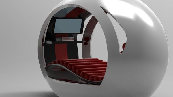 The Pod Chair Relax and get entertained  Geeky Homes