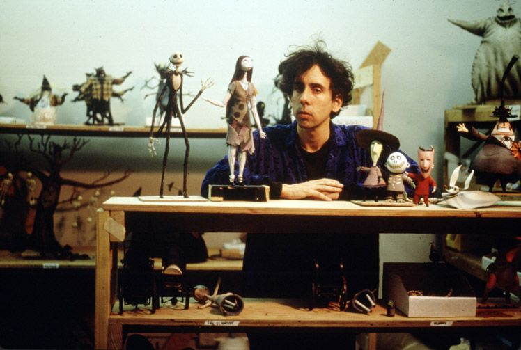 tim burton making Nightmare Before Christmas. | Film, TV ...