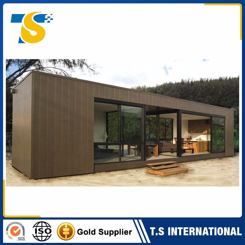40 Feet Container Homes: Cheap Prefabricated Flatpack Office Container
