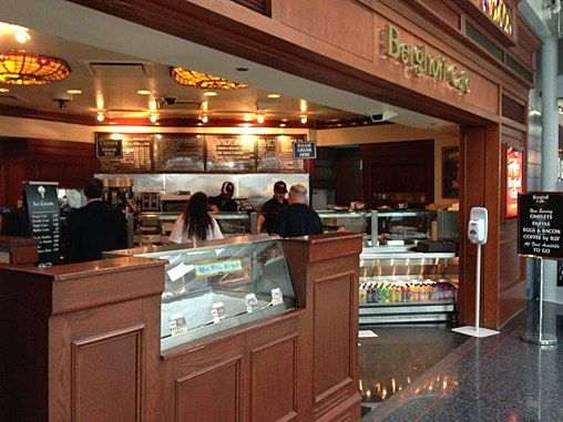 Berghoff Cafe O Hare International Airport Have Had Breakfast
