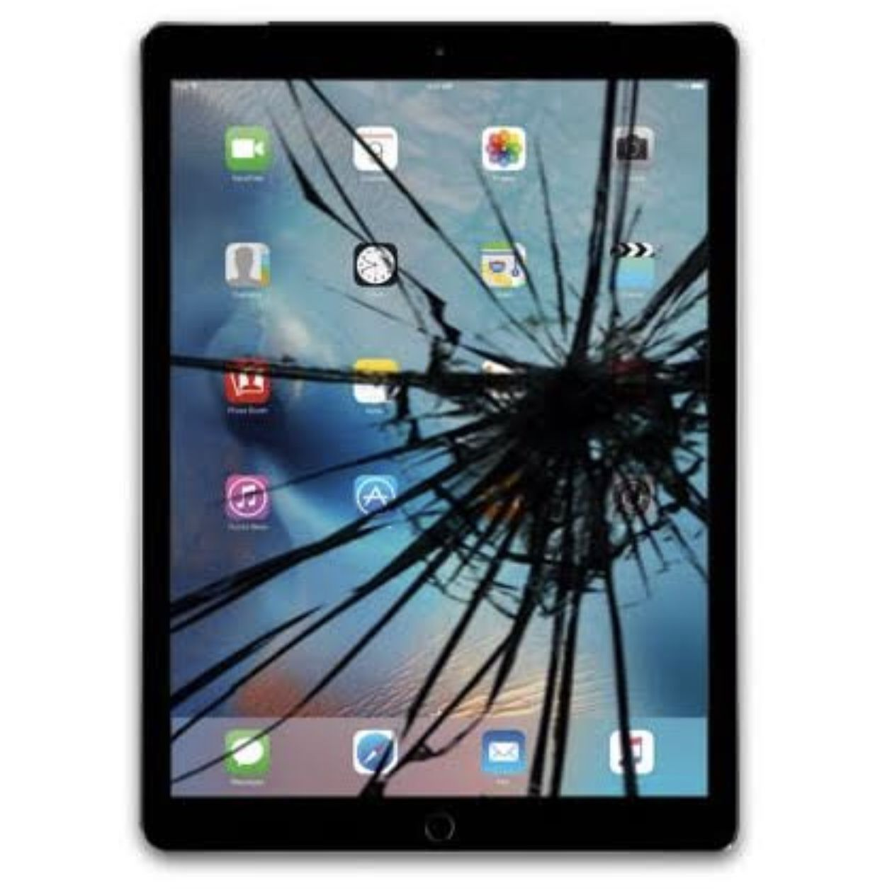 IPAD Cracked LCD Screen and Glass Digitizer Replacement