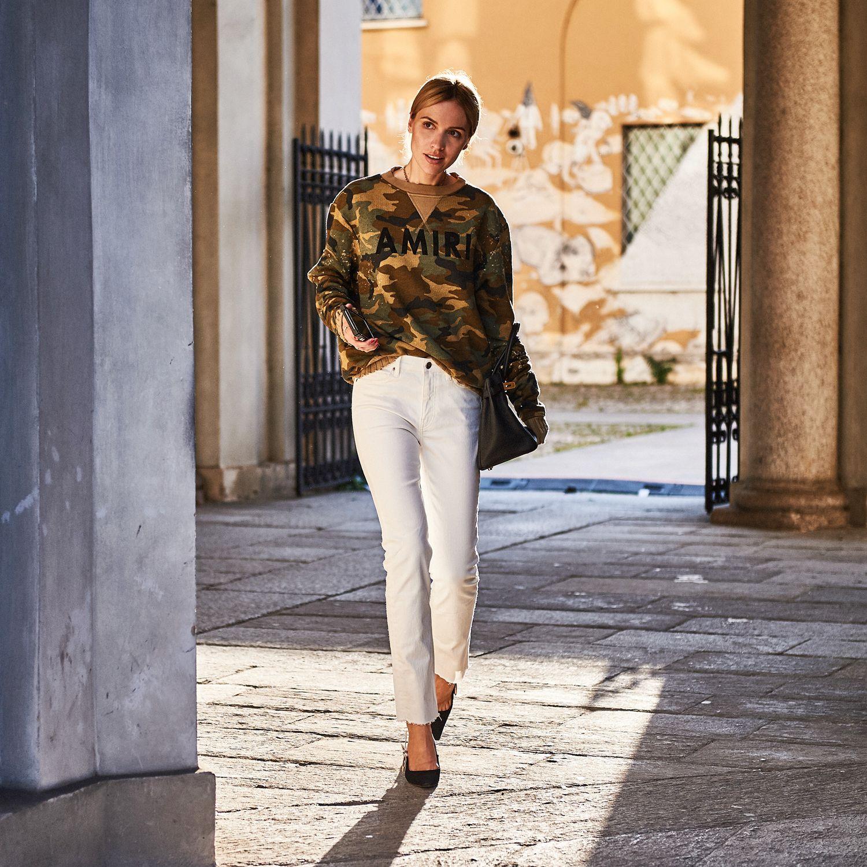 Weisse Jeans sind das ideale Passepartout - ein Rahmen für die ...