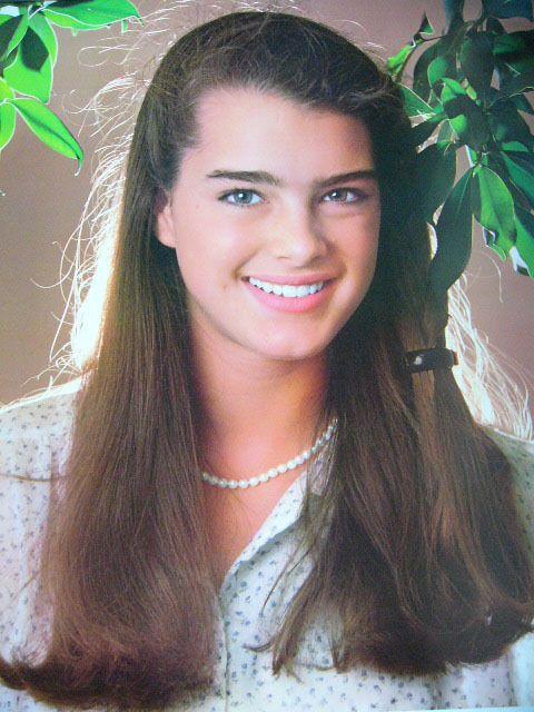 Brooke Shields, 1979.