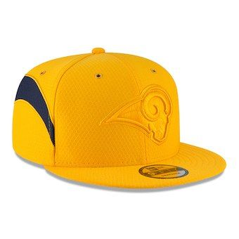 new product 919c6 62c9c Los Angeles Rams New Era Youth 2018 NFL Sideline Color Rush 9FIFTY Snapback  Adjustable Hat – Gold
