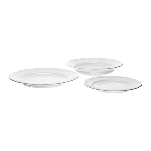 ARV 18-piece dinnerware set - IKEA  sc 1 st  Pinterest & ARV 18-piece dinnerware set white | Dinnerware Porcelain and Kitchens