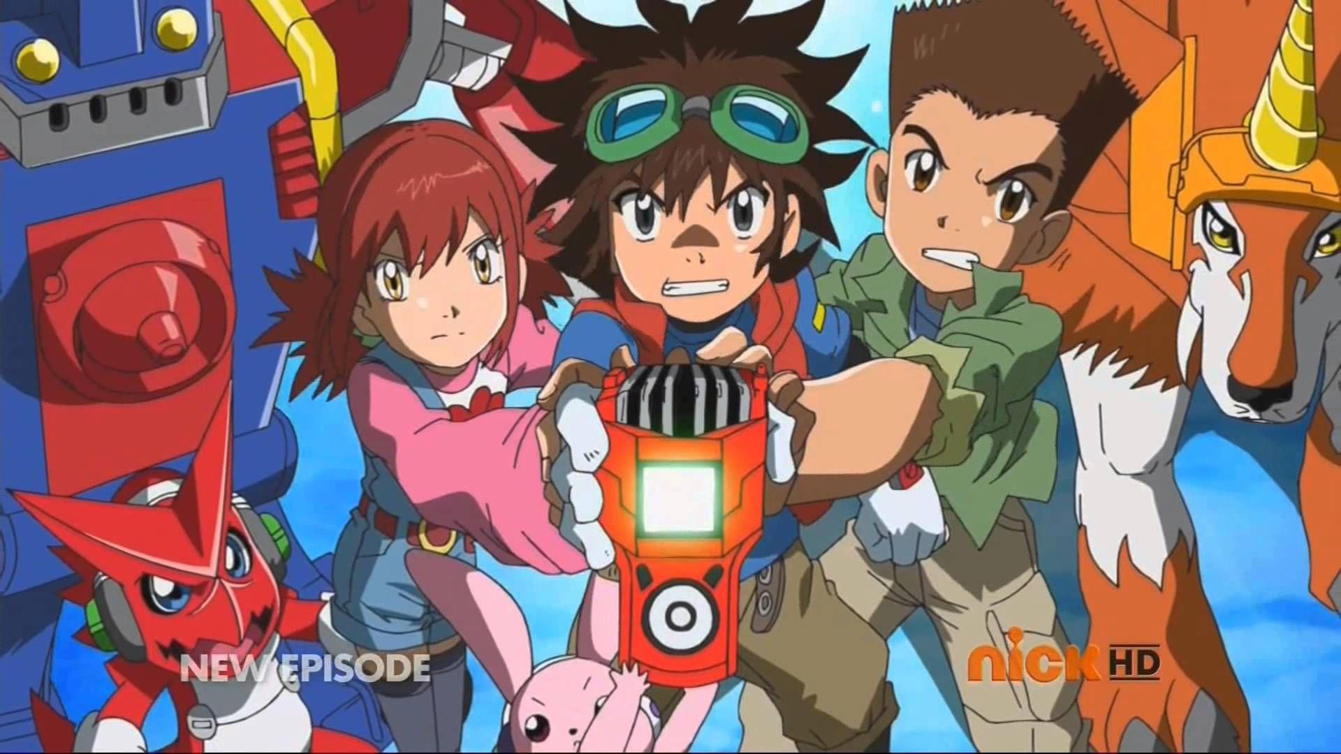 Digimon Fusion Intro