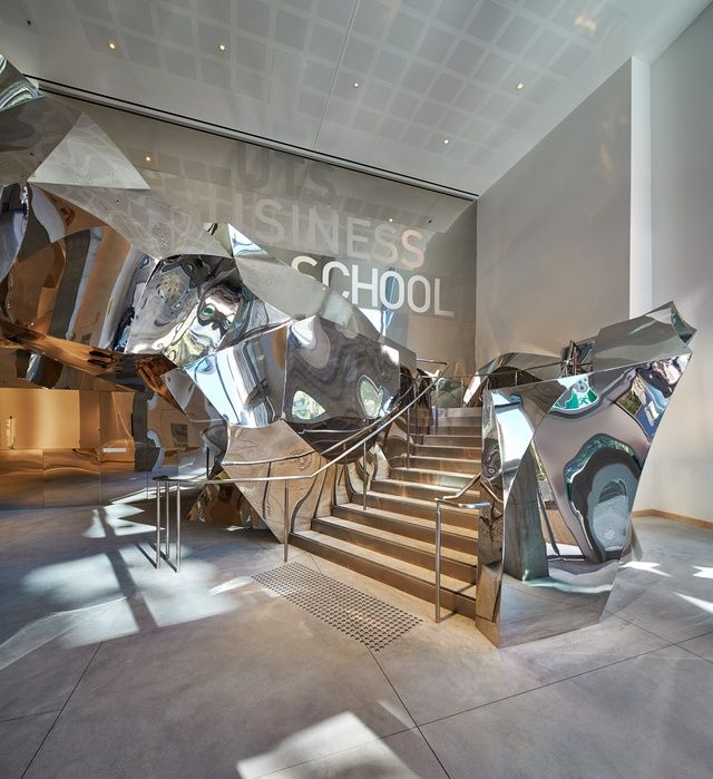 Inside out Frank Gehrys new Business School for UTS