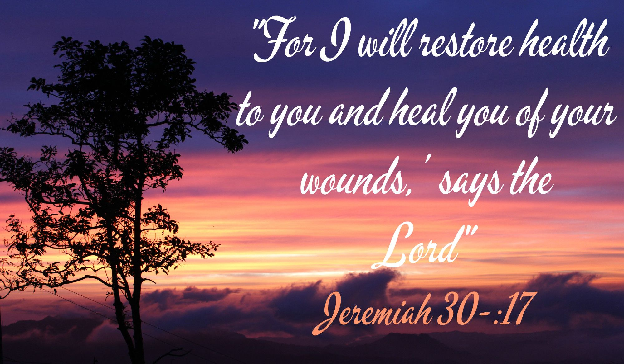 We have the promise of health and healing. #God'sPromises | Gods ...