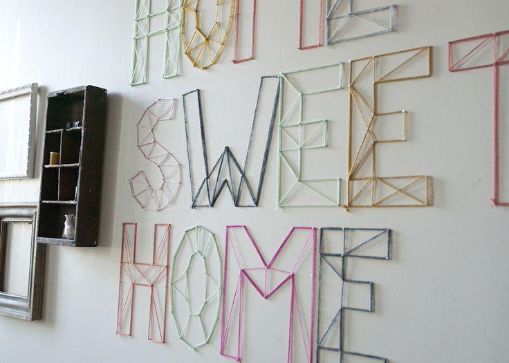 3d wall art projects relooker mon int rieur deco. Black Bedroom Furniture Sets. Home Design Ideas