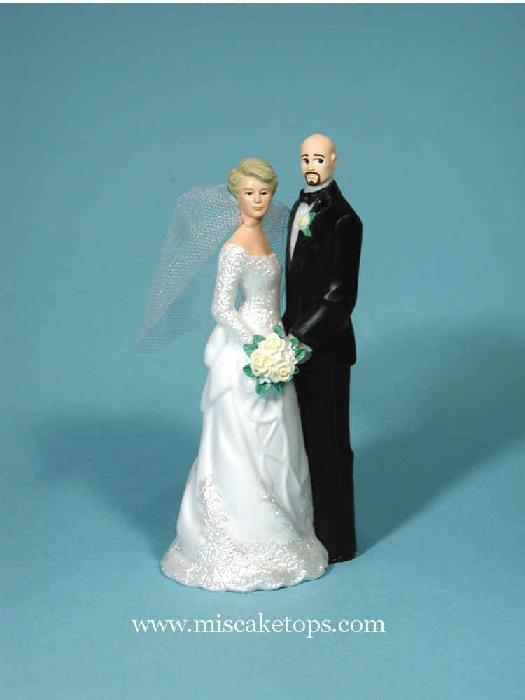 wedding cake toppers bald groom wedding cake topper bald occasions quot hair 26387