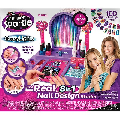 My Look 8 In 1 Super Nail Salon By Cra Z Art Z Arts Tween Girl Gifts Gem Nail Designs