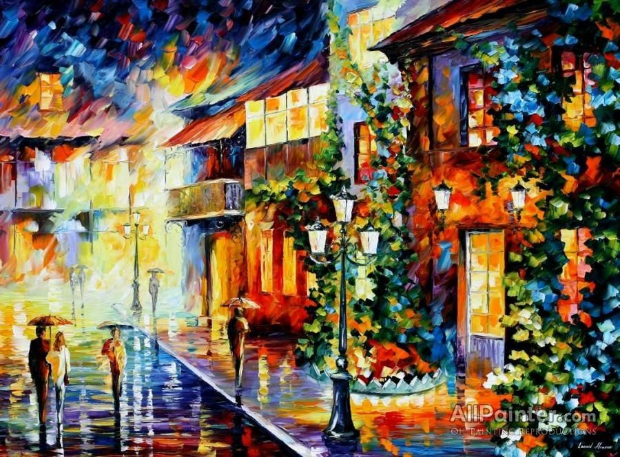 leonid afremov town from the dream oil painting for sale