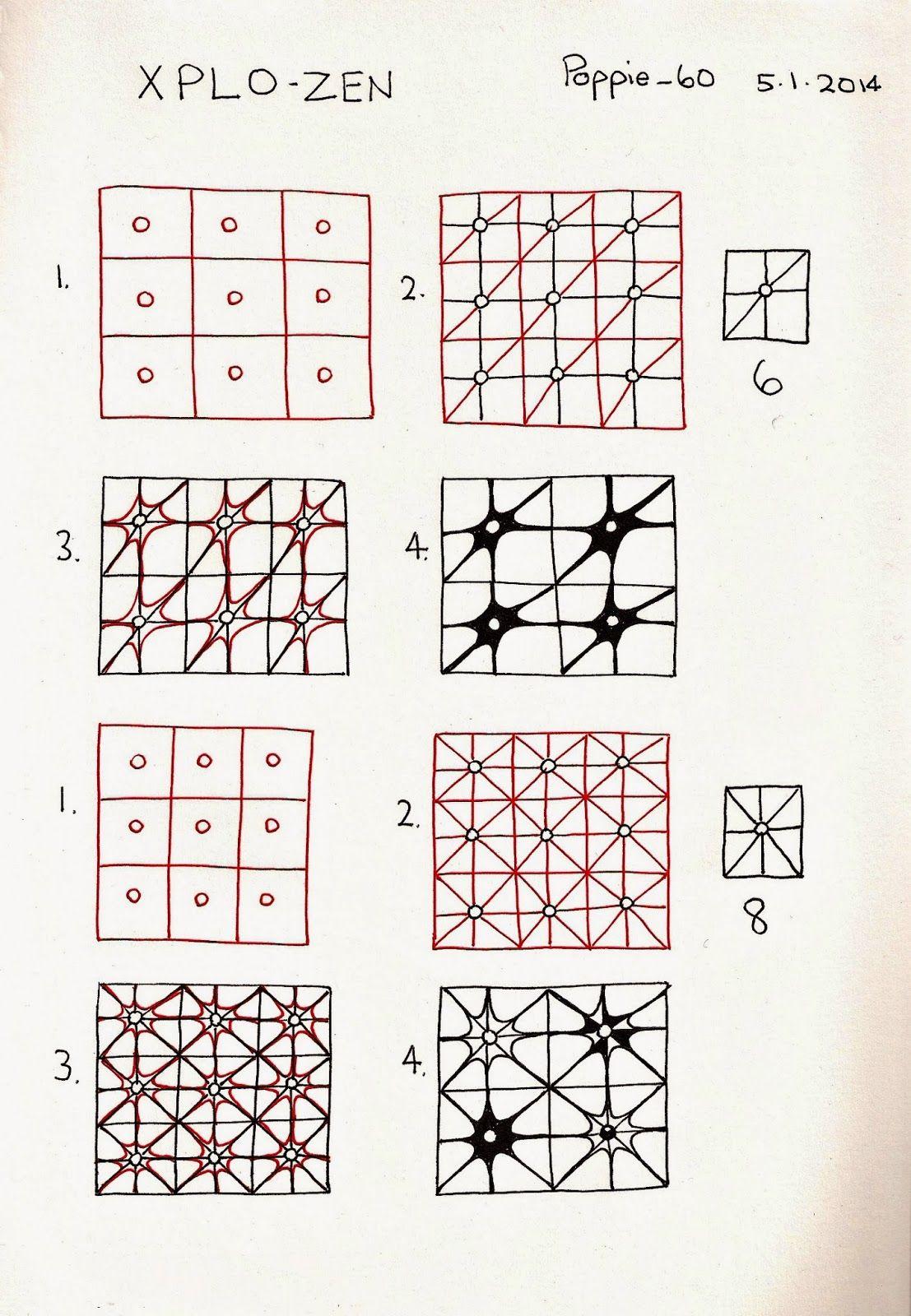 -- X-Plo-zen --  Poppie's Pen Pics ©: Poppie's Patterns