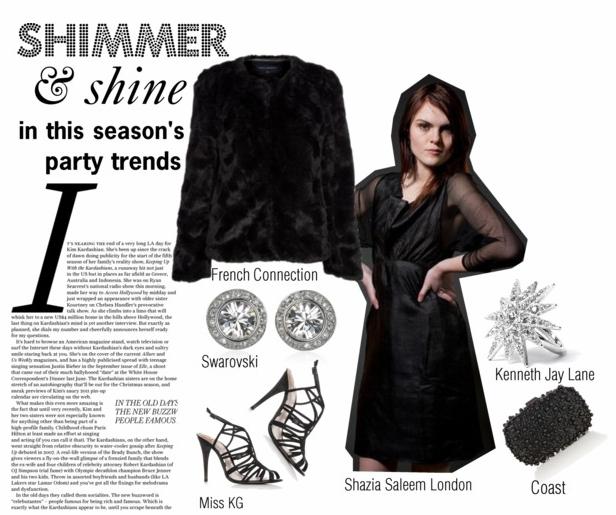 Shimmer & Shine @Shazia Saleem