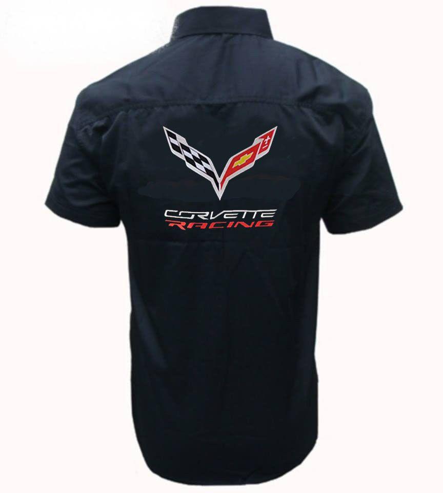 Corvette C7 Shirt Fashion Clothing Shoes Accessories Mensclothing Shirts Ebay Link Shirts Mens Outfits Mens Tops