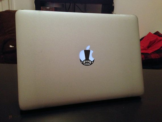 Bane custom macbook decal by decals2740 on etsy 4 99
