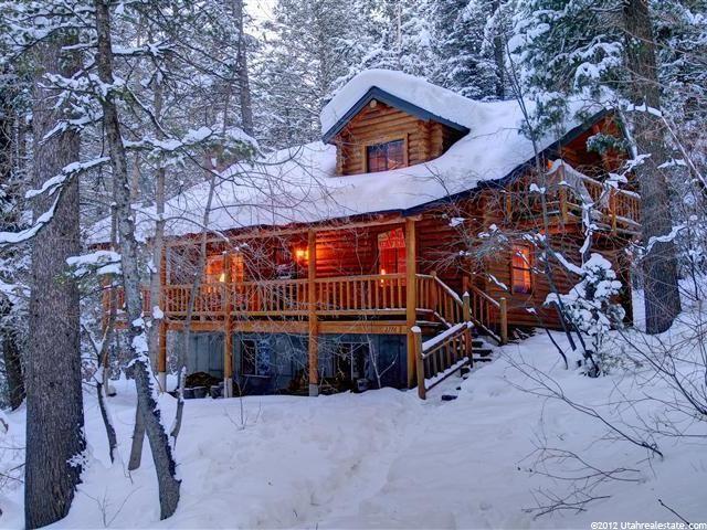 Bon Log Cabin Homes, Hilldale, UT   Sundance Utah Homes For Sale, Washburn Real