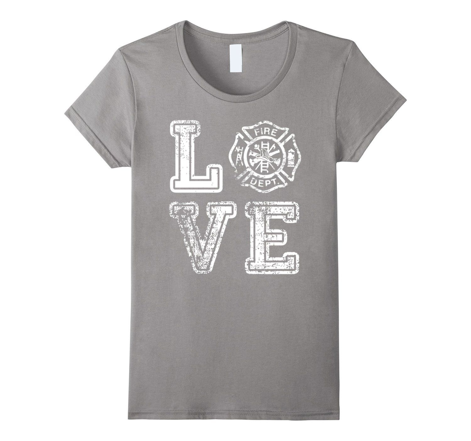 Love Fireman Firefighter Fire Department Tee Firefighter