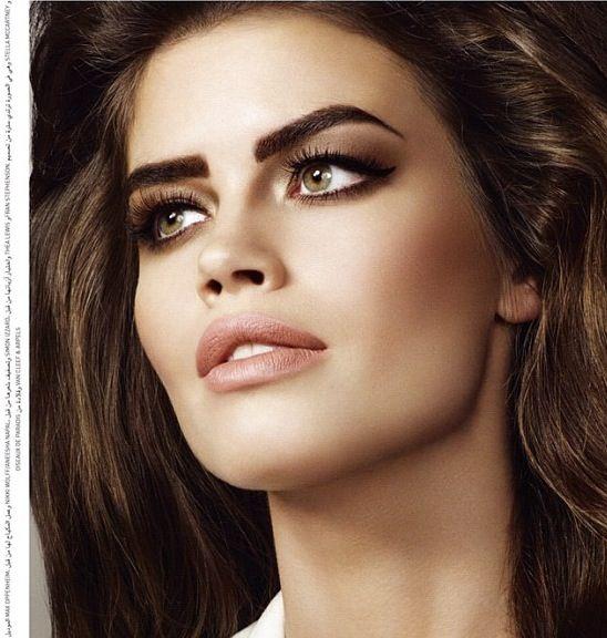 Editorial for InLondon Selfridges Arabic edition. Makeup by Nikki_Makeup