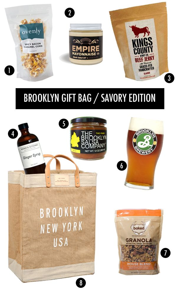 Brooklyn Themed Foo Gift Bag Easily Adapted For Chicago